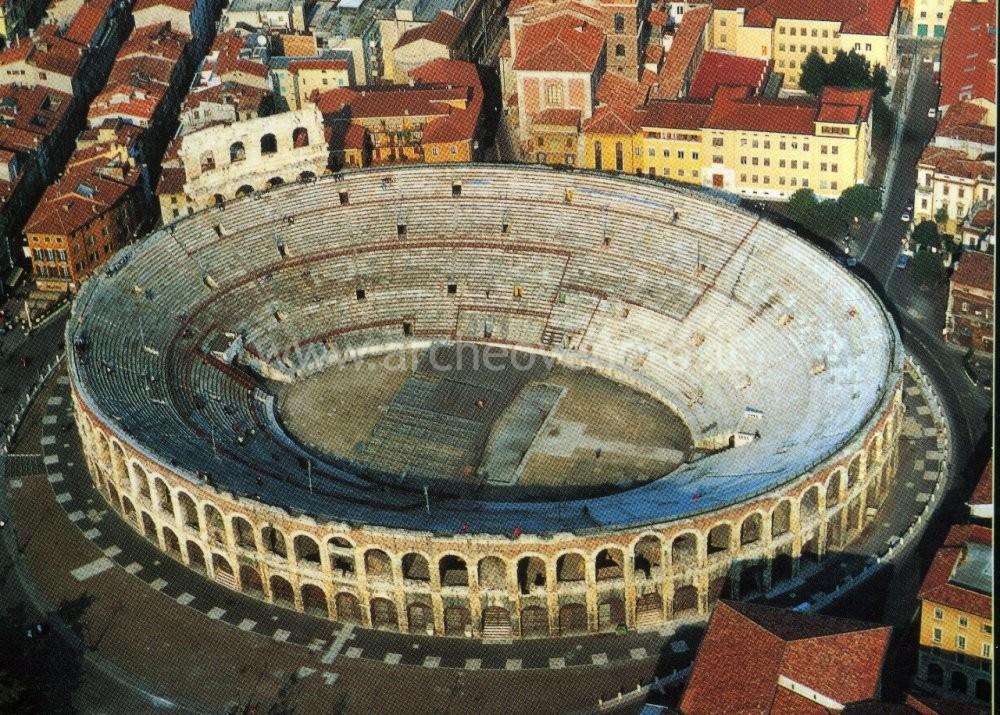 Roman amphitheatre arena verona for Colosseo da colorare